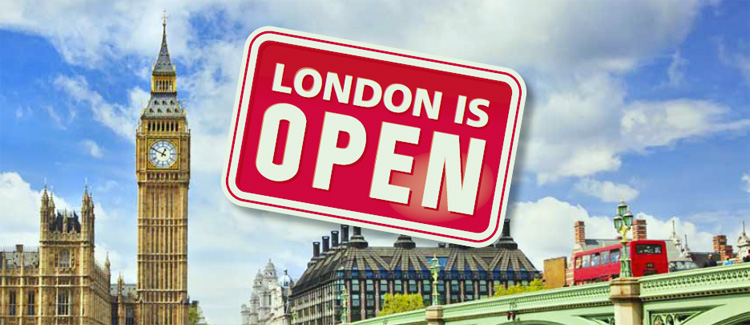 London is Open!
